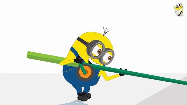 Minions Mini Movies 2016 ~ Minions Clock Banana Funny Cartoon [HD]