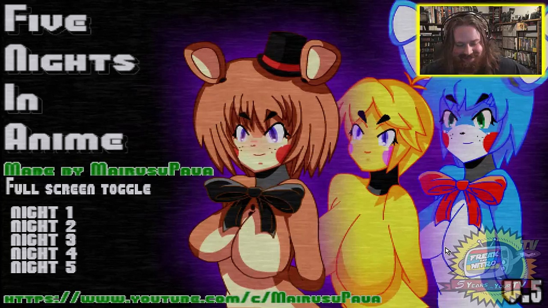 Fnia 2 i had to do it!! | five nights in anime #2 - video dailymotion