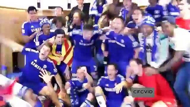 Chelsea Premier League Champions 2015 Dressing Room Celebrations
