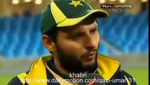 Shahid Afridi Making Jokes With Ramiz Raja 2015 world cup cricket