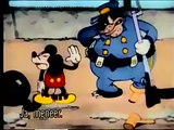 Mickey Mouse - The Chain Gang 1930 HD (colorized)