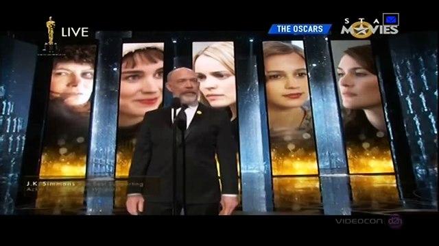 Alicia Vikander Wins Best Supporting Actress Oscar Awards 2016