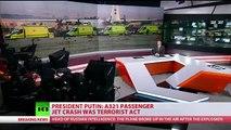 Russian Security Service: Plane crash in Sinai a terrorist attack