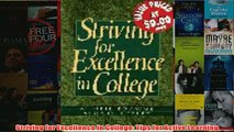 Download PDF  Striving for Excellence in College Tips for Active Learning FULL FREE