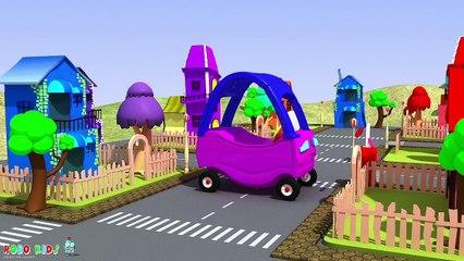 Cars for Kids | Car Cartoons for Children | Tow Truck | Police Car | Monster Trucks for Children
