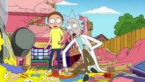 Parodia sofá Simpsons + Rick y Morty - Fandub Español Latino