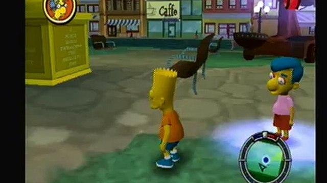 Lets Play The Simpsons: Hit and Run Part 6-Everyones After Me