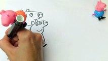 Свинка Пеппа Раскраска. Новая серия - Мама Свинка Работает. Peppa Pig Coloring. Mummy Pig at Work.