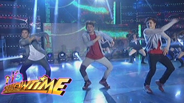 "It's Showtime: Hashtag boys perform ""Turn Down For What"""