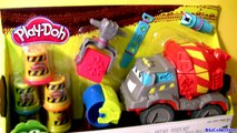 Play Doh Max The Cement Mixer Truck - Play Dough Camión Mezclador De Cemento - Pâte à Modeler