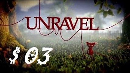 UNRAVEL : Purée de fruits rouges   Episode 03 - Let's Play FR