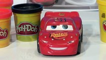Play Doh Pixar Cars Dragon Lightning McQueen from Play Doh Disney Cars2