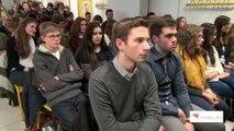 Débattre autour du dessin de presse : rencontre de Plantu avec les élèves du lycée Fénelon (2016)