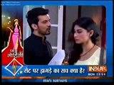 Naagin 29th February 2016 Arjun aur Moni Ka Set Par Hua Jagda jis se Moni ne Choda Naagin Show