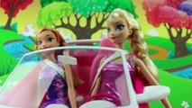 Elsas Evil Cousin Boyfriend Steals Elsa & Asle Steals Jack Frost with Frozen Anna. DisneyToysFan.