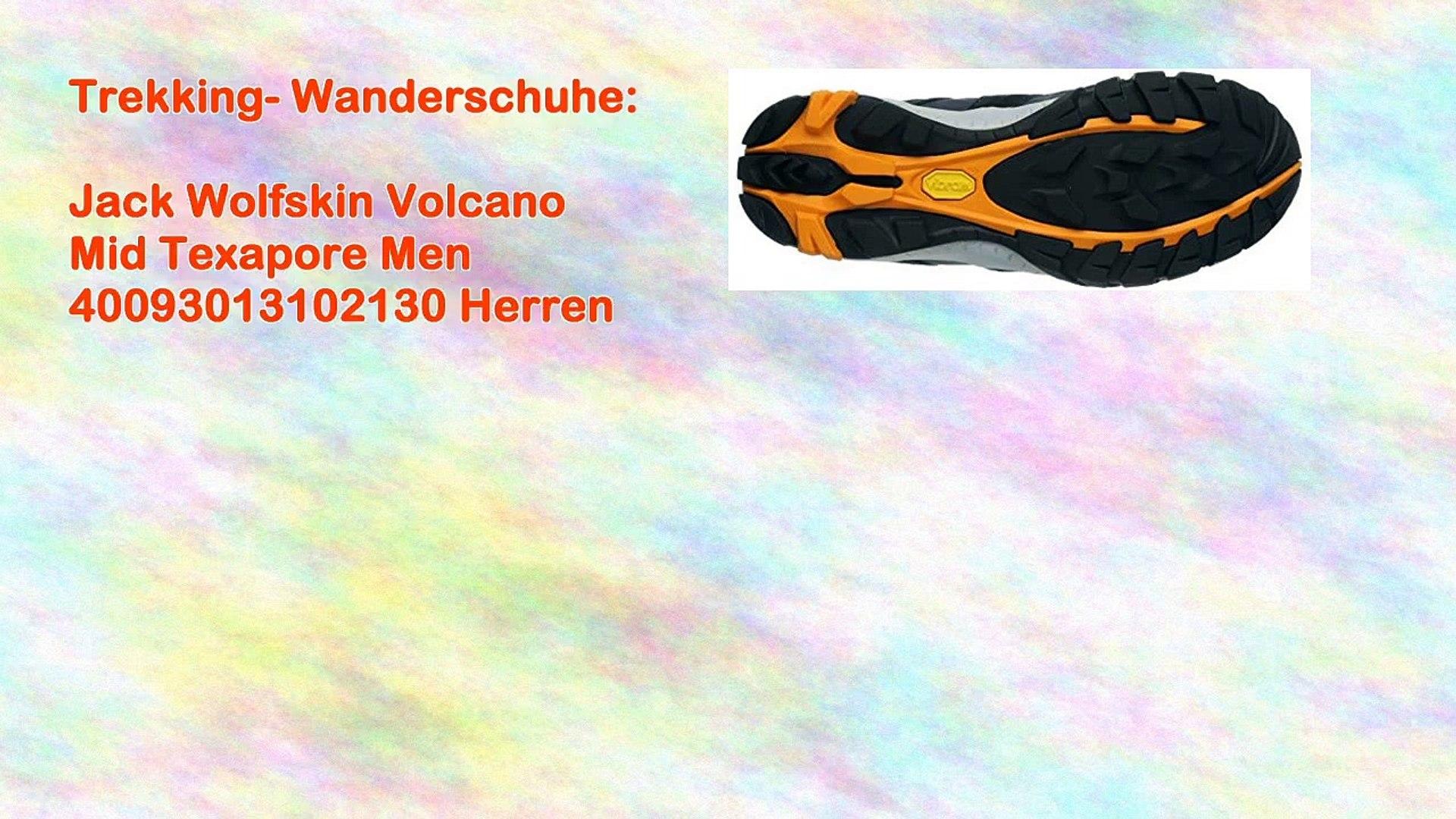 the best attitude 8a2a3 2ff03 Jack Wolfskin Volcano Mid Texapore Men 40093013102130 Herren