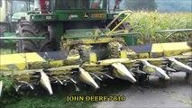 Mais Hakselen 2015 : Firma Smeets/Houten,John Deere 7450i,John Deere 7250R,John Deere 7810