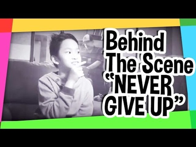 """BTS (behind the scene) of my shooting.. """"never give up"""""""