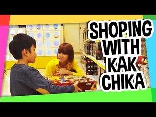 Shopping with kak chika