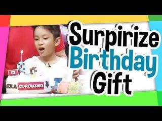 Surprize Birthday gift on Hitam Putih