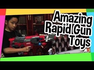 Amazing Rapid Gun Toys