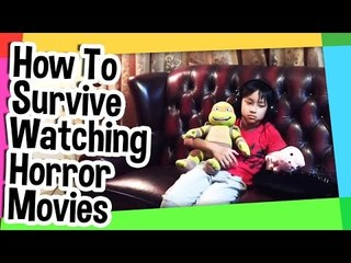 How to survive watching horror movies