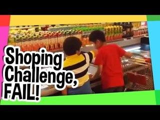 Shopping challenge FAIL