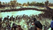 Un lac vidé de ses poissons en quelques minutes par des centaines de personnes dans un désert en Afrique