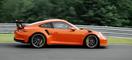 Porsche 911 GT3 RS en circuito, con Walter Röhrl al volante