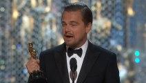 Le discours de Leonardo DiCaprio pour son Oscar du meilleur acteur remporté pour The Revenant en 2016 !!