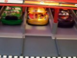 Disney Pixar Die Cast Cars 2 cars racing with Strip The King Weathers and Chick Hicks!