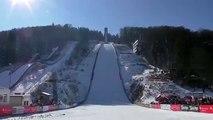 Saut à ski: la terrible chute de Thomas Diethart