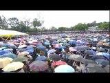 Huge crowds welcome Pope Francis to Kenya
