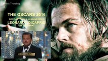 Leonardo DiCaprio Wins Best Actor Oscar 2016 _ Leonardo DiCaprio Wins Oscar FULL SPEECH [HD]