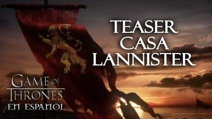 Teaser Casa Lannister - Especial Game of Thrones en español