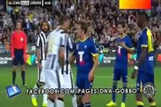 Video di post partita applausi per Alex Del Piero All Star Juventus. 10/08/2014