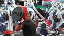 JAY CUTLER - 2014 CHEST AND TRICEPS WORKOUT - Bodybuilding Muscle Fitness