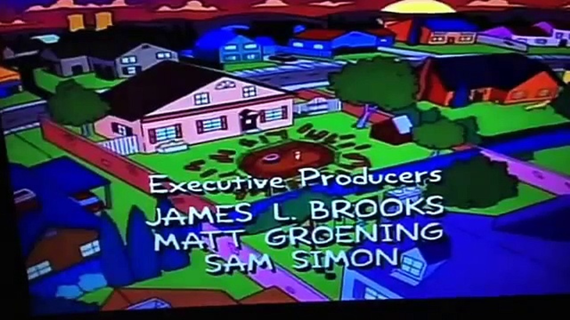 The Simpsons credits 1994
