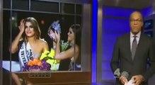 1/19/16 Steve Harvey Talks With Miss Colombia Ariadna Gutierrez Part 1