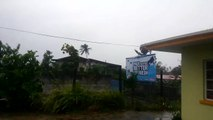 FIJI: Worlds Biggest Tropical Cyclone Winston 230km/h (Original Footage)