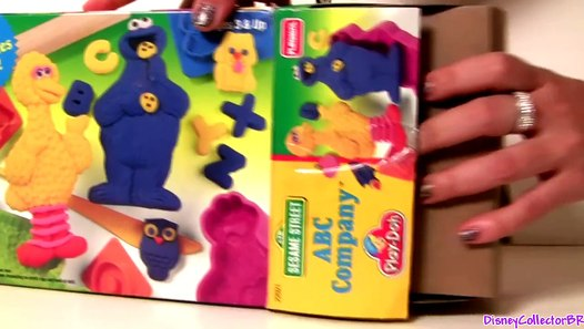 playdoh cookie monster abc company sesame street with