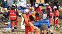 """""""Jungle"""" de Calais: un démantèlement sous tension"""