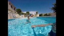 Une petite aprem a la piscine w/Tanguy