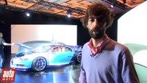 2016 Bugatti Chiron : les infos. Puissance, vitesse, prix... [SALON DE GENEVE]
