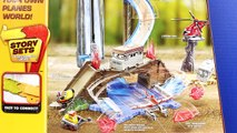 Disney Planes Pontoon Dusty Crophopper Waterfall Rescue Playset With Disney Pixar Lightning McQueen