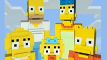 Minecraft Xbox/Playstation - SIMPSONS IN MINECRAFT - NEW SKIN PACK
