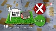 Immobilier : la baisse des tarifs des huissiers et des notaires se précise