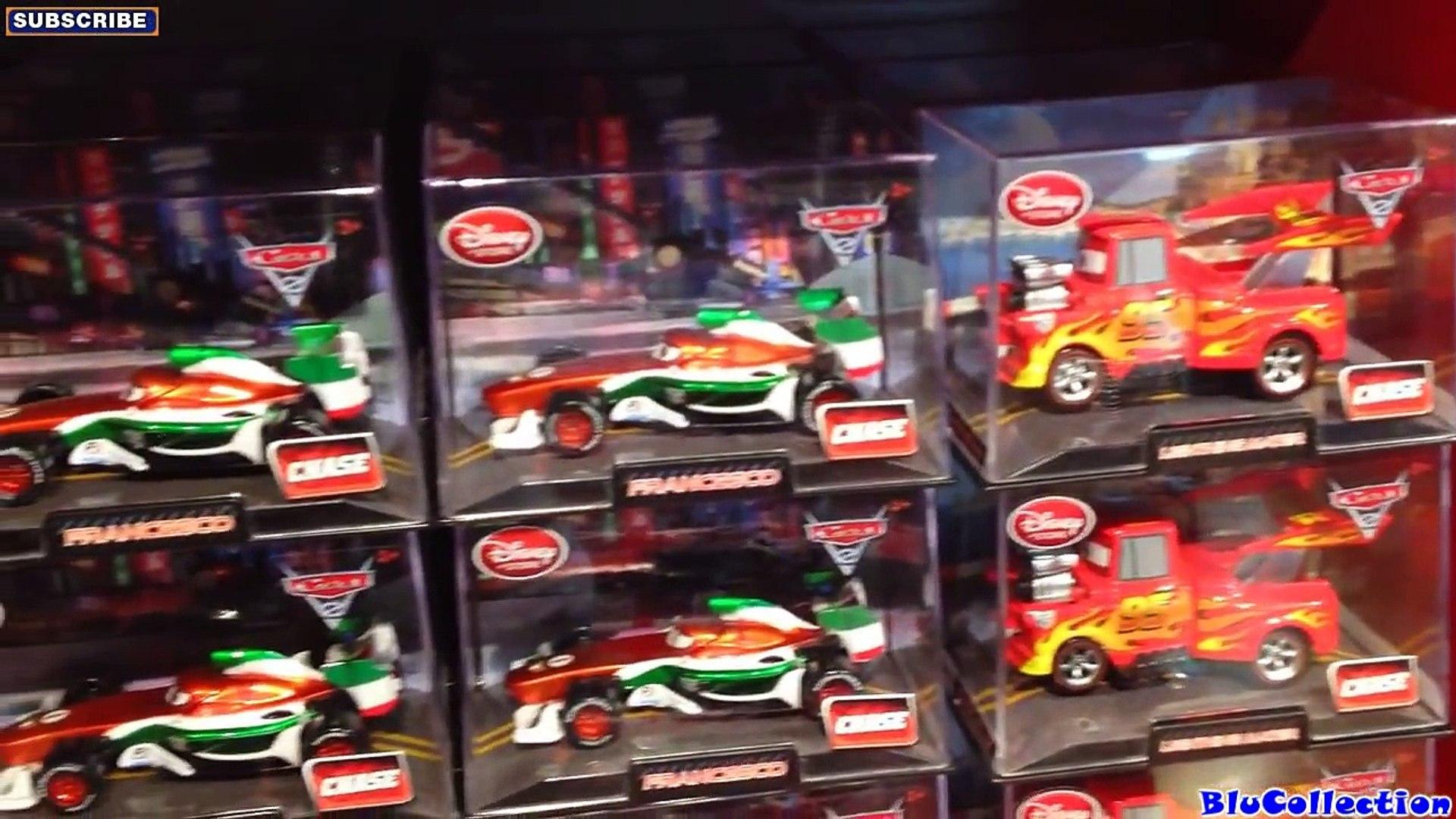 Disney Store Cars 2 Vladimir Die Cast Car In Collector/'s Case