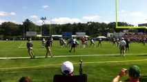 Tom Brady Injures Knee at Patriots Practice