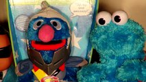 Cookie Monster Count n Crunch Introduces Global Grover from Sesame Street